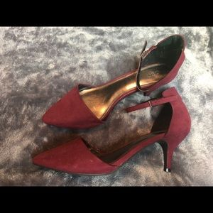 Cato Small Ankle Strap Heels
